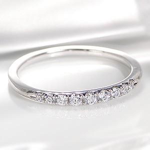 商品画像1 Pt900 ダイヤモンド グラデーション エタニティ リング
