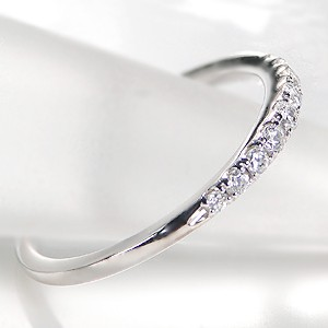 商品画像2 Pt900 ダイヤモンド グラデーション エタニティ リング
