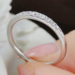 商品画像4 Pt900 ダイヤモンド グラデーション エタニティ リング