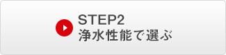 STEP 2. 浄水性能で選ぶ