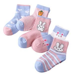 キッズソックス 5足セット ショートソックス ショート 靴下 子ども用靴下 キッズ 子ども ジュニア 赤ちゃん ベビー 綿 くしゅくしゅ 秋冬 男の子 女の子|clivia|14