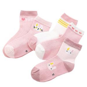キッズソックス 5足セット ショートソックス ショート 靴下 子ども用靴下 キッズ 子ども ジュニア 赤ちゃん ベビー 綿 くしゅくしゅ 秋冬 男の子 女の子|clivia|16