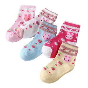 キッズソックス 5足セット ショートソックス ショート 靴下 子ども用靴下 キッズ 子ども ジュニア 赤ちゃん ベビー 綿 くしゅくしゅ 秋冬 男の子 女の子|clivia|22