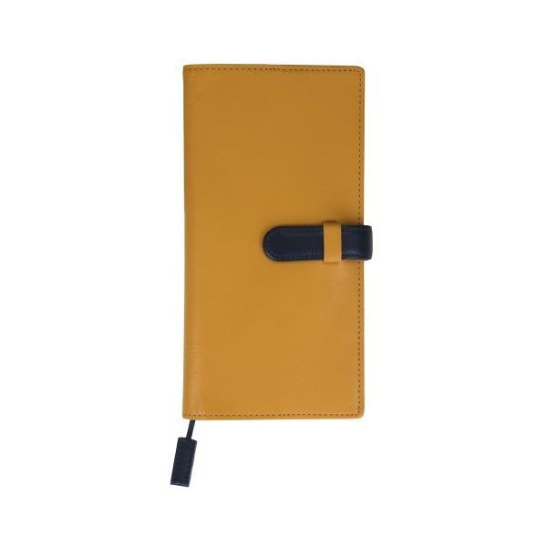 手帳カバー B6変型サイズ 縦長 スリム ベルトつき 本革 革 レザー カジュアルカラー メンズ レディース CLuaR シールアル 名入れ可|cluar|13