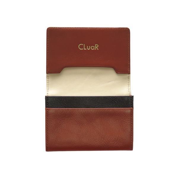 名刺入れ 名刺ケース ビジネス カードケース サブポケット 大容量 50枚収納 本革 革 レザー メンズ レディース CLuaR シールアル|cluar|09