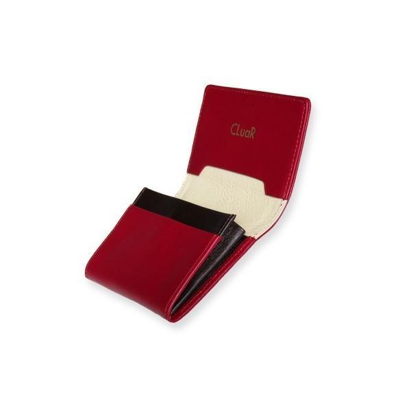 名刺入れ 名刺ケース ビジネス カードケース サブポケット 大容量 50枚収納 本革 革 レザー メンズ レディース CLuaR シールアル|cluar|10