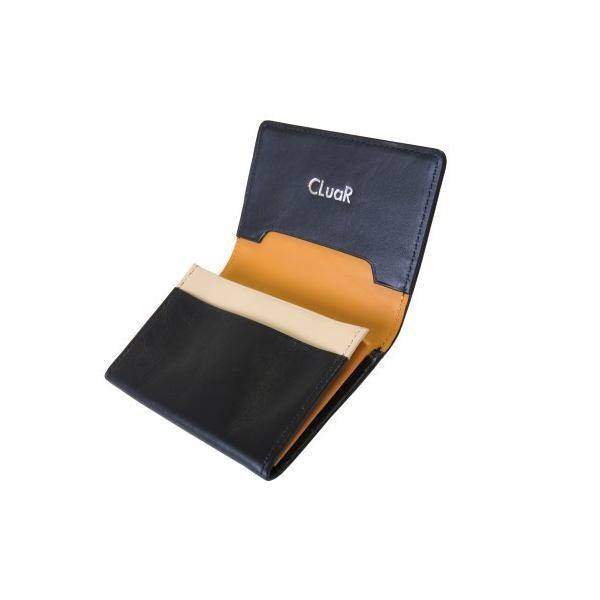 名刺入れ 名刺ケース ビジネス カードケース サブポケット 大容量 50枚収納 本革 革 レザー メンズ レディース CLuaR シールアル|cluar|12