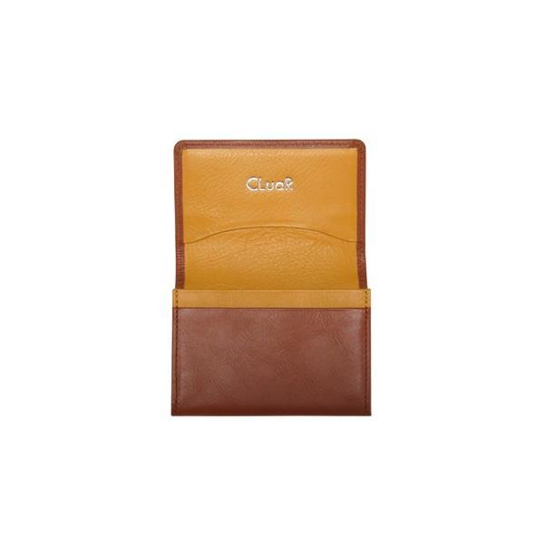 名刺入れ 名刺ケース ビジネス カードケース サブポケット W字マチ 大容量 30枚収納 本革 革 レザー メンズ レディース CLuaR シールアル 名入れ可|cluar|19