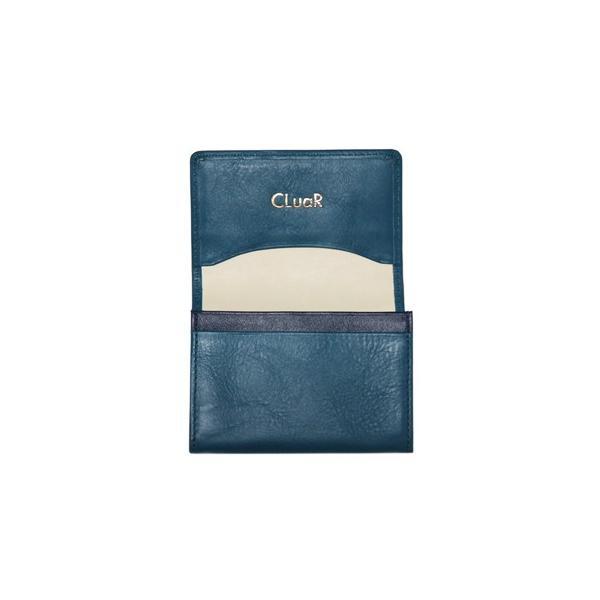 名刺入れ 名刺ケース ビジネス カードケース サブポケット W字マチ 大容量 30枚収納 本革 革 レザー メンズ レディース CLuaR シールアル 名入れ可|cluar|22