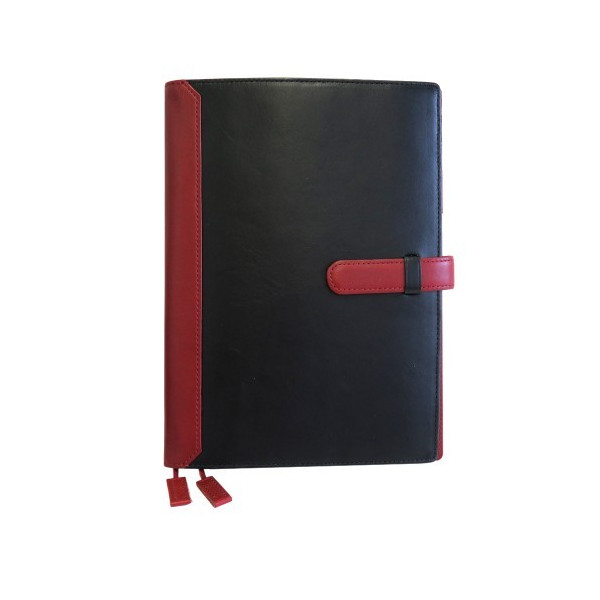 手帳カバー A5サイズ ベルトつき A5正寸対応 本革 革 レザー ビジネスカラー メンズ レディース CLuaR シールアル|cluar|15