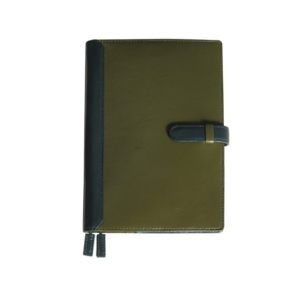 手帳カバー A5サイズ ベルトつき A5正寸対応 本革 革 レザー ビジネスカラー メンズ レディース CLuaR シールアル|cluar|17