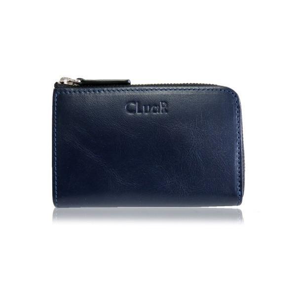 コンパクトウォレット 小銭入れ コインケース カードも入る L字ファスナー 小型財布 マルチ ビジネスカラー 本革 革 レザー メンズ レディース CLuaR シールアル|cluar|07