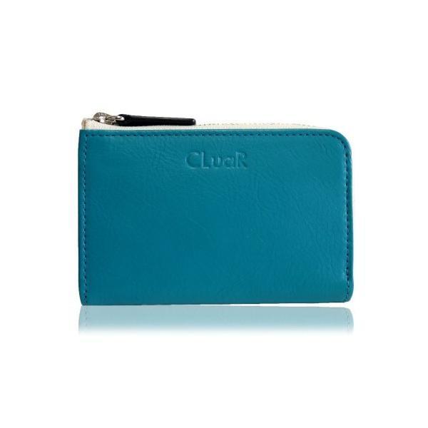 コンパクトウォレット 小銭入れ コインケース カード入る L字ファスナー 小型財布 マルチ カジュアルカラー 本革 革 レザー メンズ レディース CLuaR シールアル|cluar|10