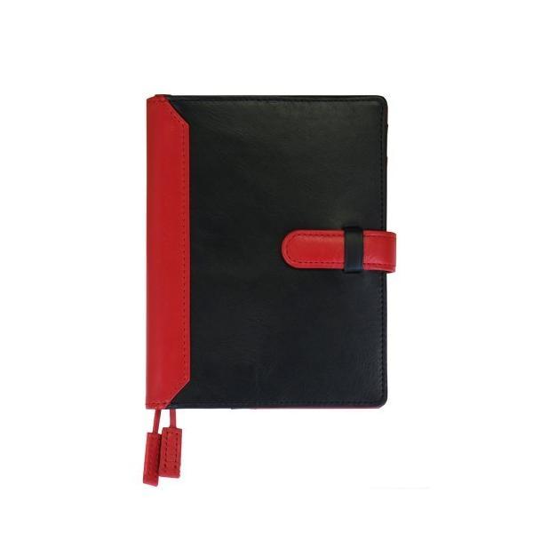 手帳カバー A6サイズ 文庫サイズ ベルトつき  本革 革 レザー ビジネスカラー メンズ レディース CLuaR シールアル|cluar|08