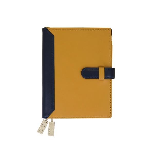 手帳カバー A6サイズ 文庫サイズ ベルトつき 本革 革 レザー カジュアルカラー メンズ レディース CLuaR シールアル|cluar|11