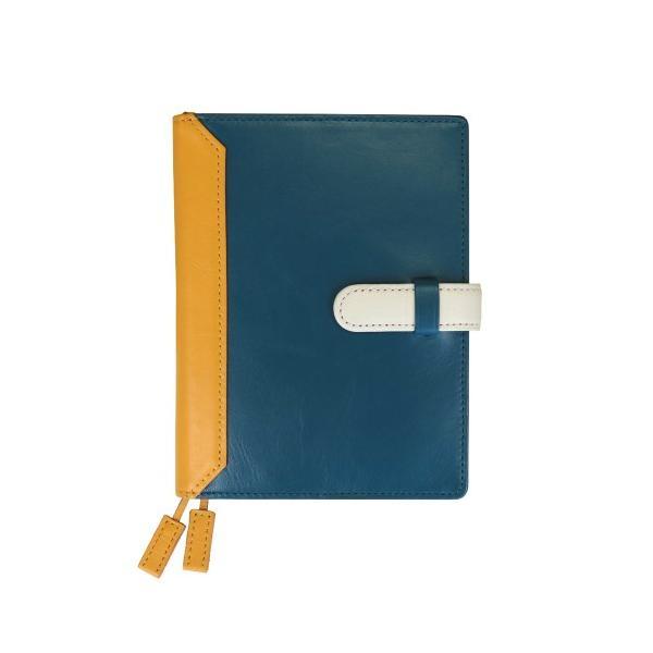 手帳カバー A6サイズ 文庫サイズ ベルトつき 本革 革 レザー カジュアルカラー メンズ レディース CLuaR シールアル|cluar|14