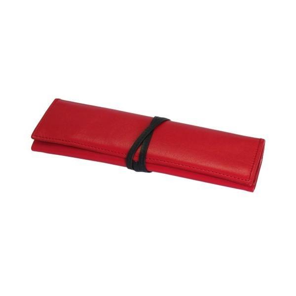 ペンケース ロールタイプ ロール型 ロールペンケース 本革 革 レザー バイカラー メンズ レディース CLuaR シールアル|cluar|17