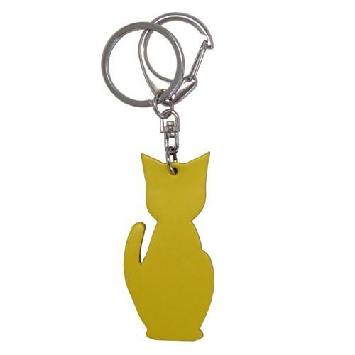 名入れ可 猫チャームキーホルダー キーリング バッグチャーム 本革 レザー 革 日本製 メンズ レディース 父の日ラッピング無料 2021 プレゼント cluar 21