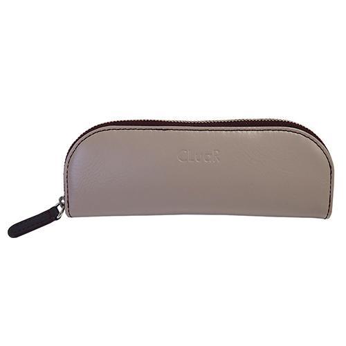 新商品 名入れ可 ペンケース ファスナー ジッパー メガネケース バイカラー 革 レザー ビジネス メンズ レディース ラッピング可 父の日ラッピング無料 cluar 14