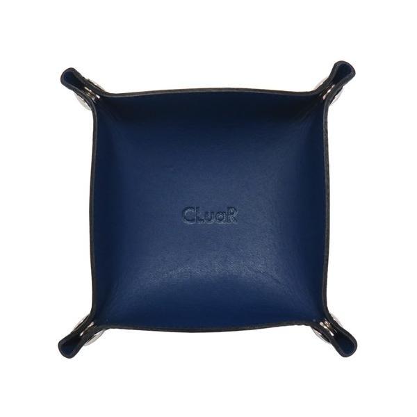 レザートレー Sサイズ 正方形 バイカラー 小物置き アクセサリー収納 マルチトレー 日本製 本革 革 メンズ レディース CLuaR シールアル|cluar|08