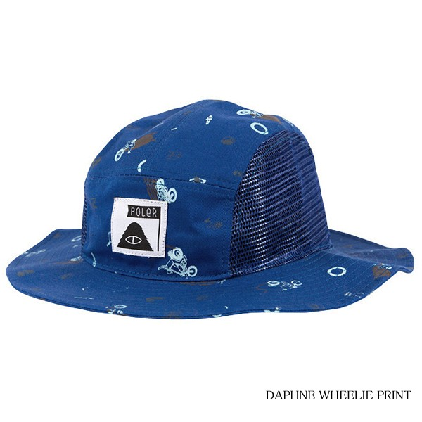 6b9285e4ced POLeR ポーラー LUNCHPAIL BUCKET HAT ハット 帽子 バケットハット通販 ...