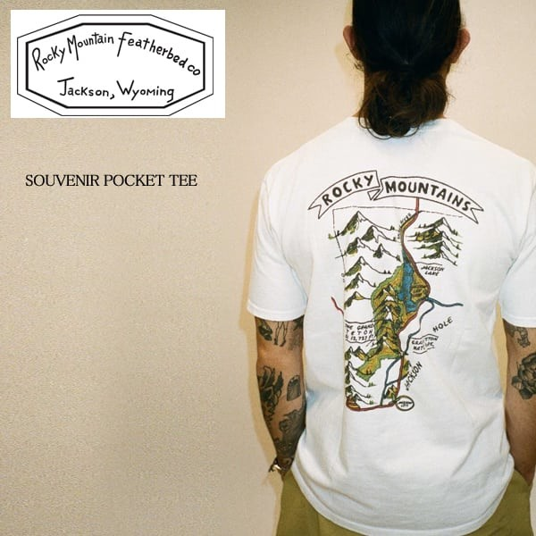 ロッキー マウンテン/Rocky Mountain Featherbed/ロッキー/SOUVENIR POCKET TEE/Tシャツ  width=