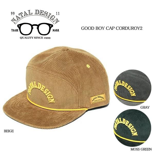 Natal Design/ネイタルデザイン/GOOD BOY CAP CORDUROY2/帽子/キャップ/コーデュロイ  width=