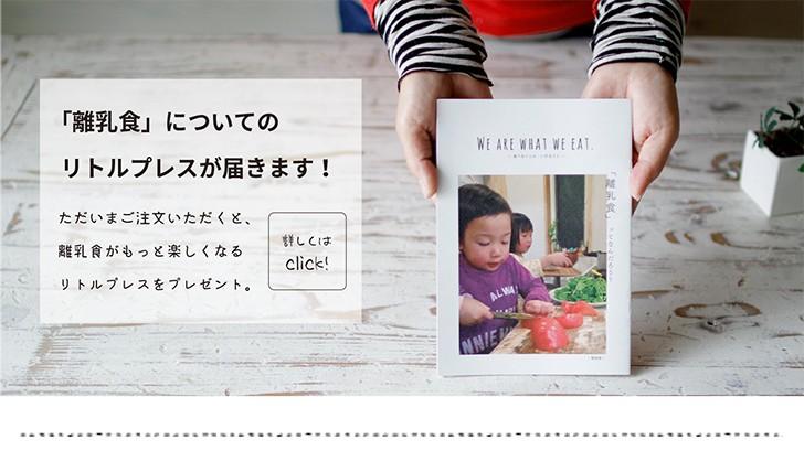 離乳食についての小冊子 プレゼント