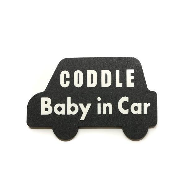 【メール便配送】CODDLE KIDS マグネット Baby in Car|coddle|07