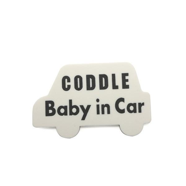 【メール便配送】CODDLE KIDS マグネット Baby in Car|coddle|08