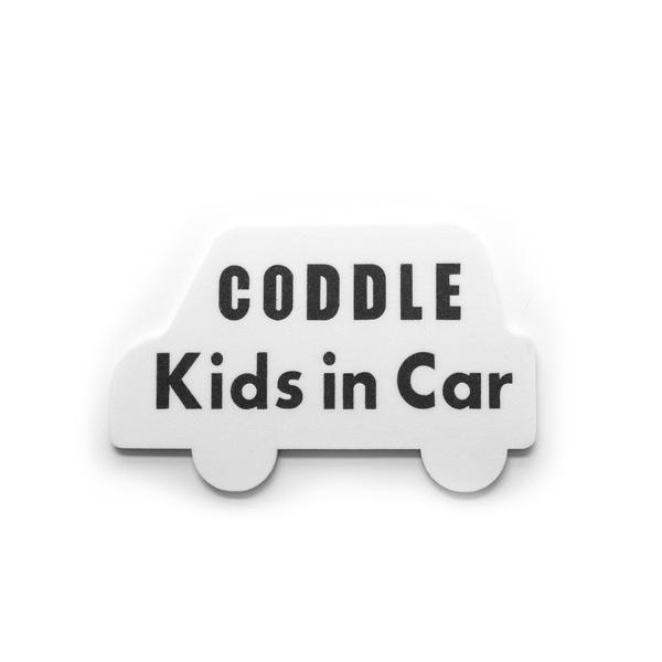 【メール便配送】CODDLE KIDS マグネット Kids in Car coddle 08
