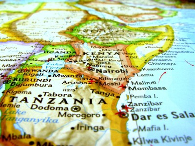 タンザニア(キリマンジャロ)地図!