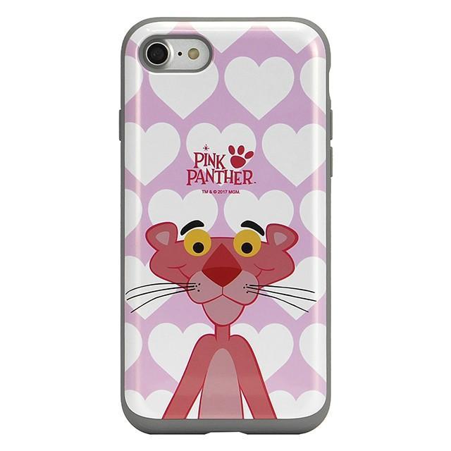 スマホケース iPhoneXS/X/SE(第2世代)/8/7 ピンクパンサー 耐衝撃 スライド ミラー ケース 鏡付き キャラクター かわいい 可愛い collaborn-plus 06