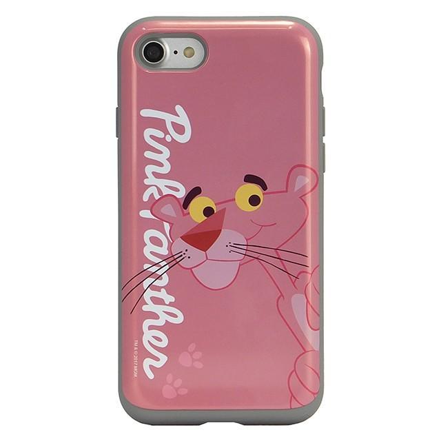 スマホケース iPhoneXS/X/SE(第2世代)/8/7 ピンクパンサー 耐衝撃 スライド ミラー ケース 鏡付き キャラクター かわいい 可愛い collaborn-plus 07
