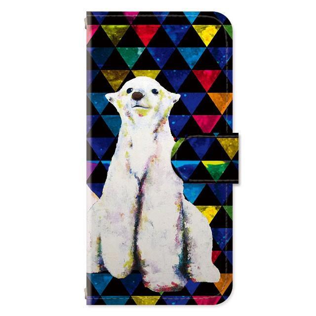 スマホケース iPhoneSE(第2世代)/8/7/6s/6 手帳型 ケース 猫 おしゃれ 手帳 横 縦 カード収納 シロクマ しろくま フラミンゴ collaborn-plus 15