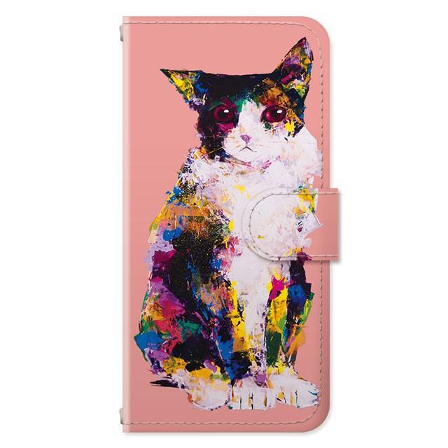 スマホケース iPhoneSE(第2世代)/8/7/6s/6 手帳型 ケース 猫 おしゃれ 手帳 横 縦 カード収納 シロクマ しろくま フラミンゴ collaborn-plus 23