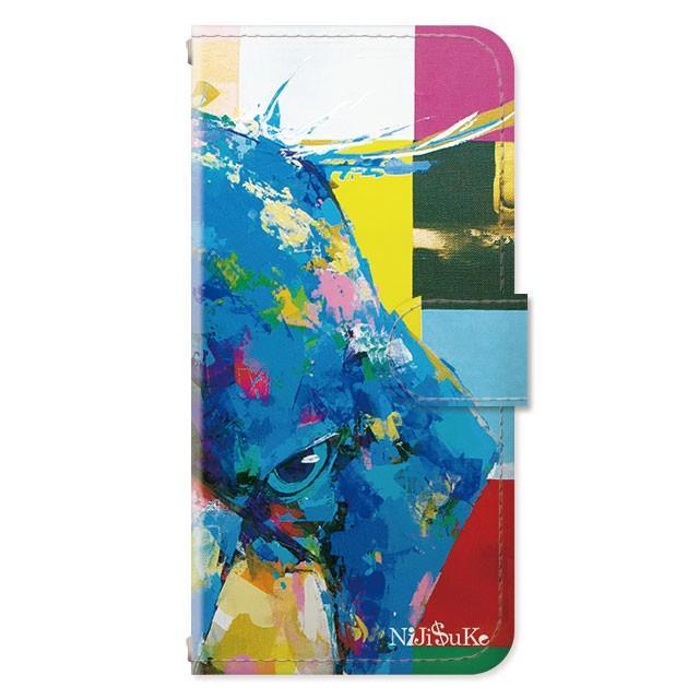 スマホケース iPhoneSE(第2世代)/8/7/6s/6 手帳型 ケース 猫 おしゃれ 手帳 横 縦 カード収納 シロクマ しろくま フラミンゴ collaborn-plus 29