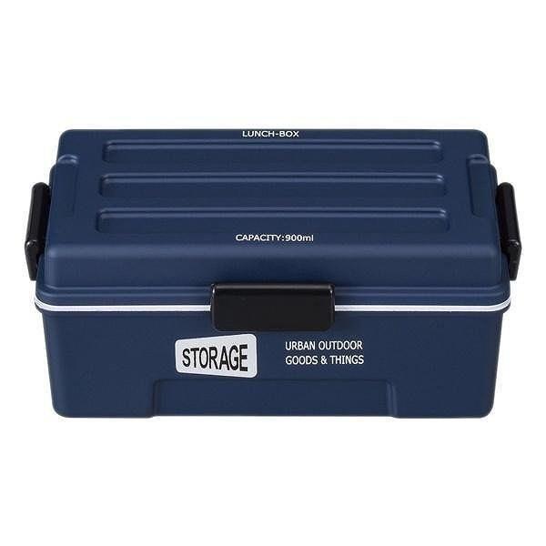 お弁当箱 1段 仕切付き STORAGE コンテナランチ 900ml ランチボックス ( レンジ対応 食洗機対応 弁当箱 男性 大容量 ドーム型 おしゃれ おすすめ ) colorfulbox 23