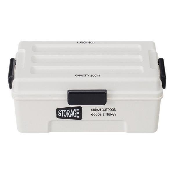 お弁当箱 1段 仕切付き STORAGE コンテナランチ 900ml ランチボックス ( レンジ対応 食洗機対応 弁当箱 男性 大容量 ドーム型 おしゃれ おすすめ ) colorfulbox 21