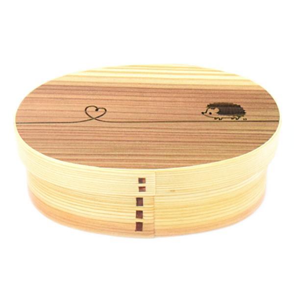 お弁当箱 曲げわっぱ 600ml ウレタン塗装 レーザー彫刻 デザイン 結び 動物 ( 木製 ランチボックス 弁当箱 一段 わっぱ 女子 )|colorfulbox|18