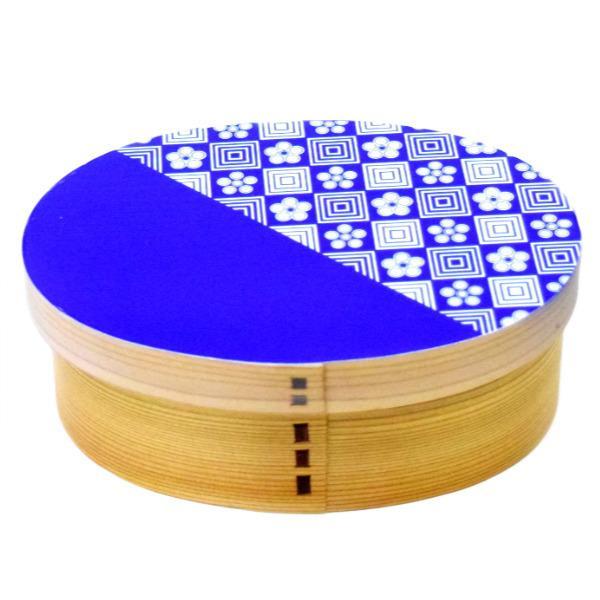 お弁当箱 曲げわっぱ 600ml ウレタン Kutan 梅畳 ( 弁当箱 ランチボックス 1段 わっぱ 弁当 お弁当 小判型 九谷五彩 )|colorfulbox|21