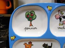 メラミン製中皿