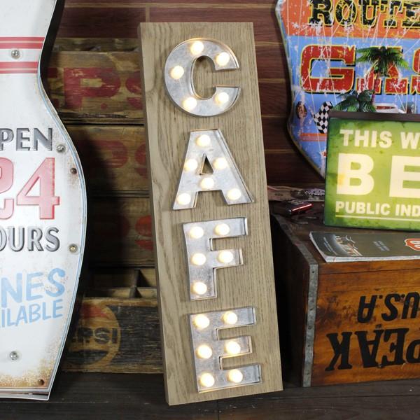 LEDマーキーライト<CAFE>HTF-285 /HOUSE USE PRODUCT/インテリア照明/