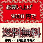 9000円で送料無料