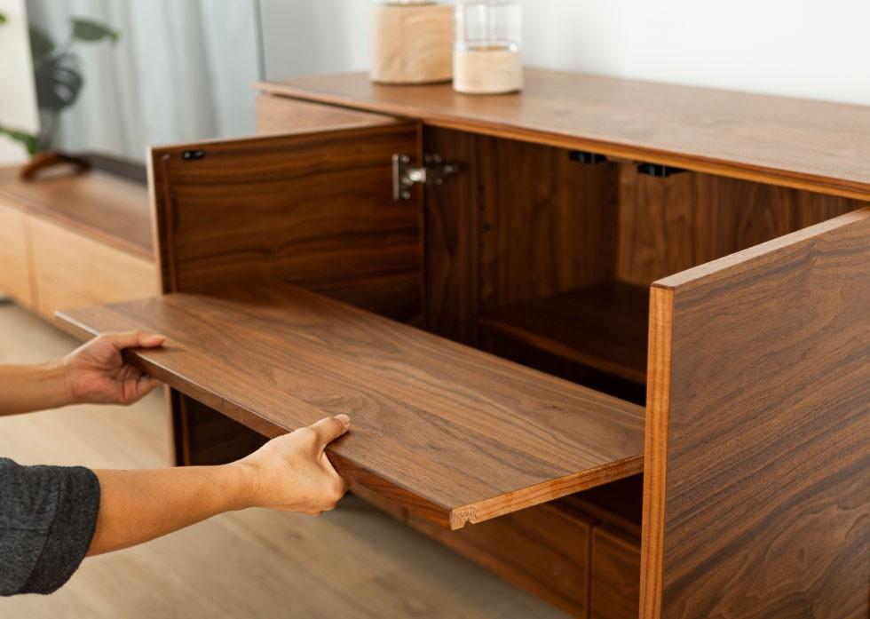 家具 可動棚