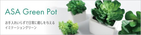 ASA Green Pot イミテーショングリーン