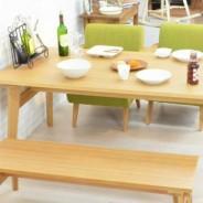 ダイニングテーブルセット CELESTE DINING SET セレステ ダイニングソファー・ベンチ4点セット