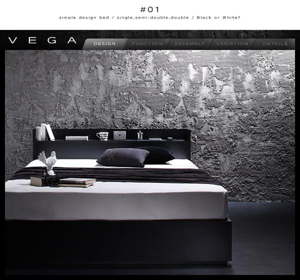 収納ベッド 収納付きベッド シングルベッド ベッド シングル マットレス付き 下収納 ベッド 画像3