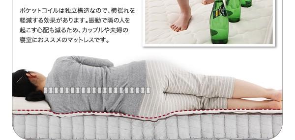 ダブルベッド ベッド ダブル マットレス付き フロアベッド ローベッド 画像19