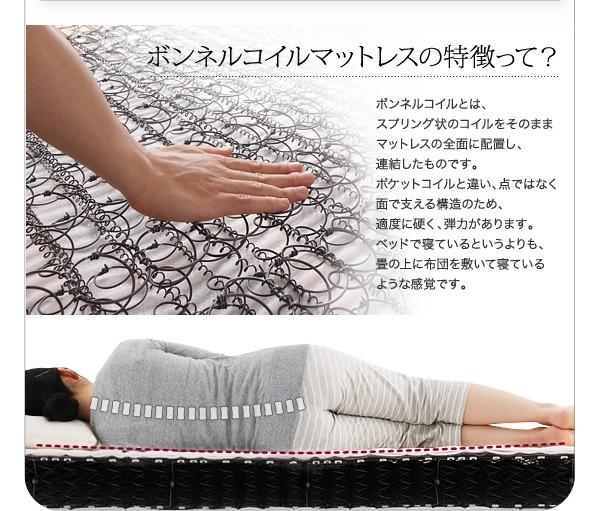 ダブルベッド ベッド ダブル マットレス付き フロアベッド ローベッド 画像20